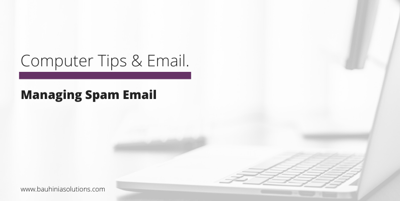 Managing Spam Email